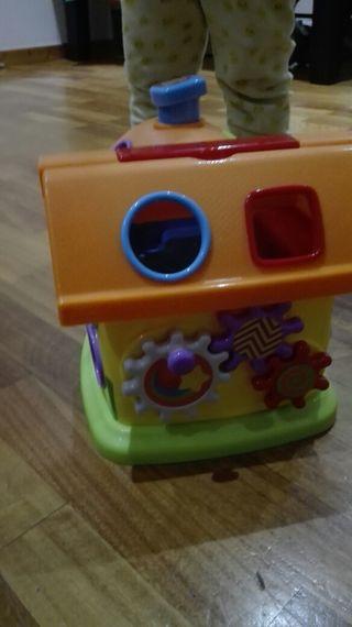 Casa juguete estimulación