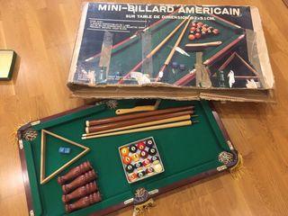 Mini-Billar Americano