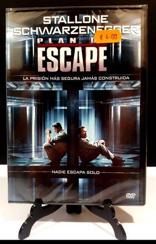 PLAN DE ESCAPE ARNOLD SCHWARZENEGGER DVD NUEVO