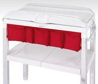 Bañera spa inglesina frontal rojo