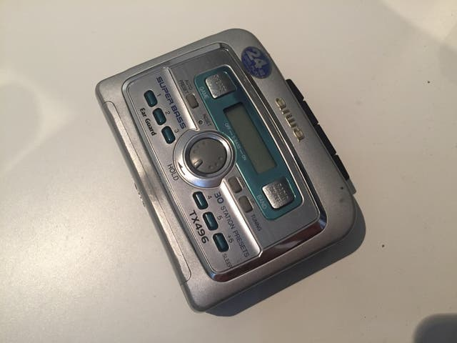 Walkman Aiwa Cintas cassette