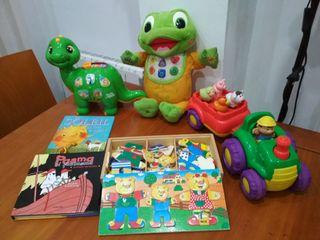 Lote juguetes prescolar. Todos
