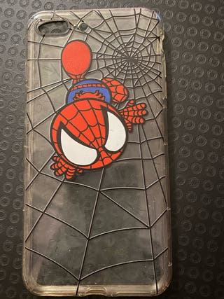 Funda iPhone 8 Plus Spiderman