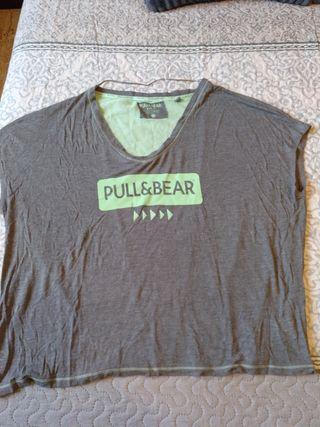 camiseta pull & bear