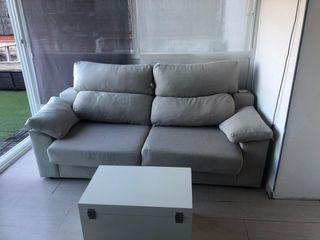 Sofá cama dos plazas cama italiana