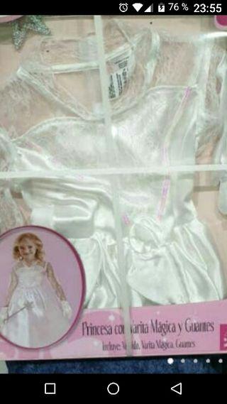 disfraz niña princesa