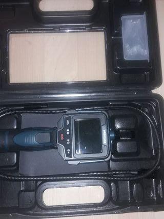 cámara de inspección con pantalla Parkside