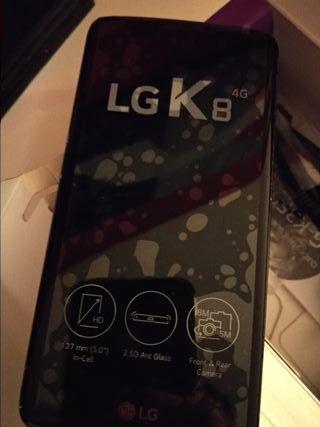 móvil LG K8