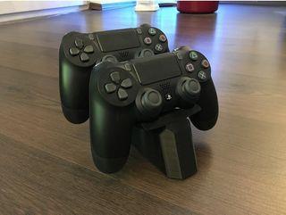 PS4 DUAL SOPORTE MANDO PS4 3D