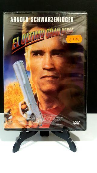 EL ULTIMO GRAN HEROE DVD NUEVO