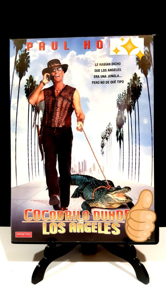 COCODRILO DUNDEE EN LOS ÁNGELES DVD