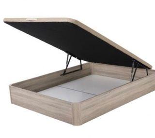 Canapes de madera capacidad maxi