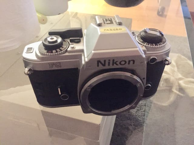 CÁMARA ANALOGICA Nikon FG