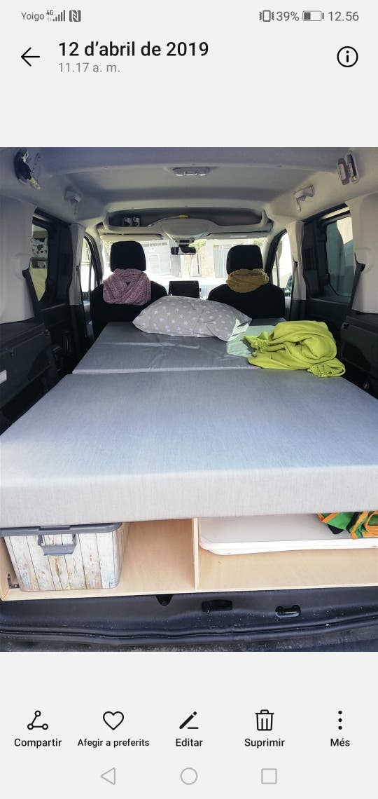 mueble camper Berlingo