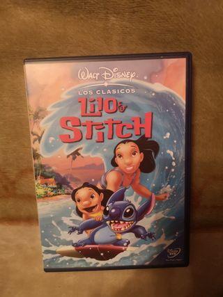 lilo y stich dvd como nuevo