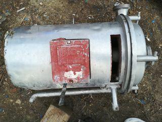 bomba centrífuga de acero inoxidable para leche