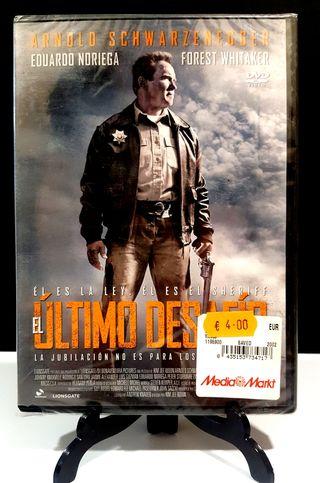 EL ÚLTIMO DESAFÍO ARNOLD SCHWARZENEGGER DVD NUEVO