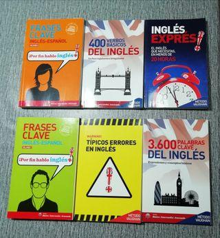 libros de inglés 5 euros