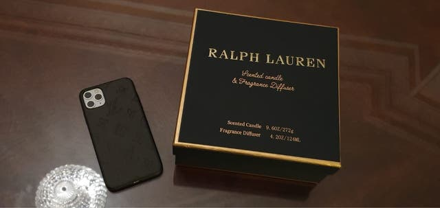 Ralph Lauren candle and defuser
