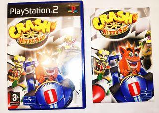 Crash Nitro Kart solo carátula y manual
