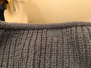 adidas chunky knit scarf