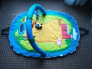 gimnasio alfombra de juegos