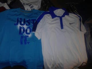 x2 Polo y camiseta de Nike para entrenar