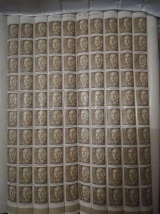 sellos de Franco