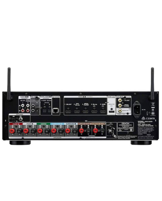 Amplificador Receptor AV DENON AVR-X1100W