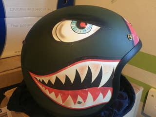 Casco DMD Vintage Shark