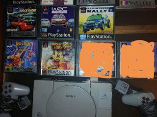 Se vende consola psp1 y juegos