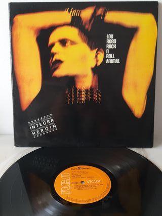 Lou Reed. rock n roll animals. Rca. España 1977