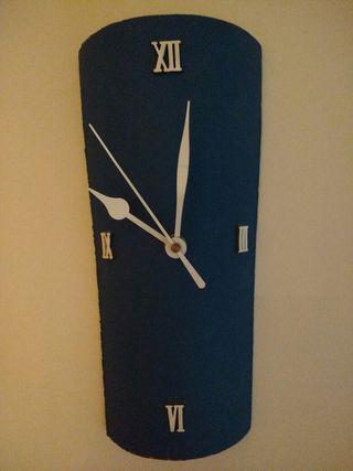 Reloj, pared, teja, regalo