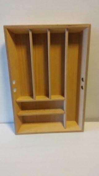cubertero de madera nuevo