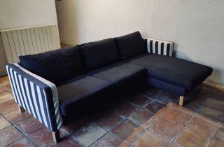 Sofa chaise longue ikea