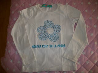 camiseta Agatha Ruiz de la Prada, talla 6