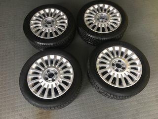 Llantas Fiat 500 Neumáticos Michelin Alpin