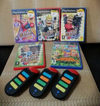 Lote PS2, Juegos,mandos,tarjetas....