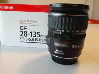 Objetivo Canon 28-135 f/3.5-5.6 IS USM
