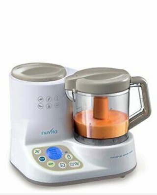 Robot de cocina para hacer purés de bebé