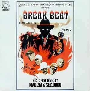 Vinilo Madzim & Sec.undo Break Beat Vol 2