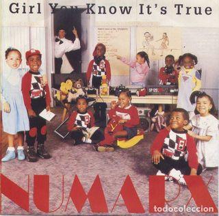 Vinilo Numarx - Girl you know it's true