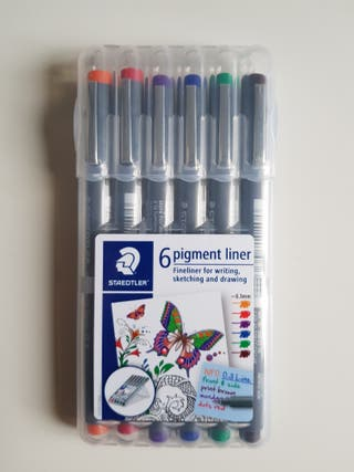 Rotuladores Calibrados Staedtler pigment liner