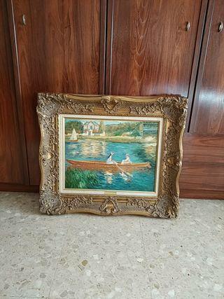 Cuadros de Van Gogh, Renoir y Cézanne