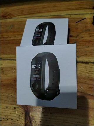 pulsera,reloj,pulsometro cuentapasos
