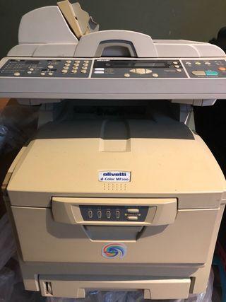 Impresora multifuncion olivetti d-color MF 200