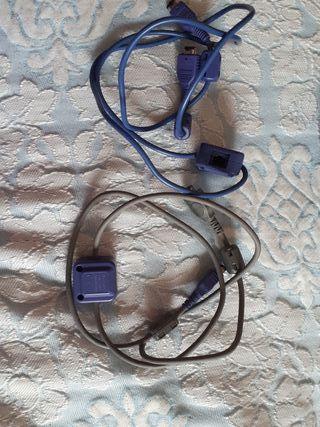 Cables accesorios Game Boy Advanced
