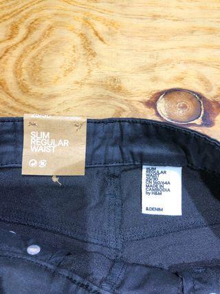 Talla 34 pantalón negro nuevo mujer H&M