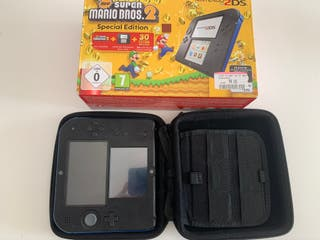 Nintendo 2DS Azul Super Mario Bros 2