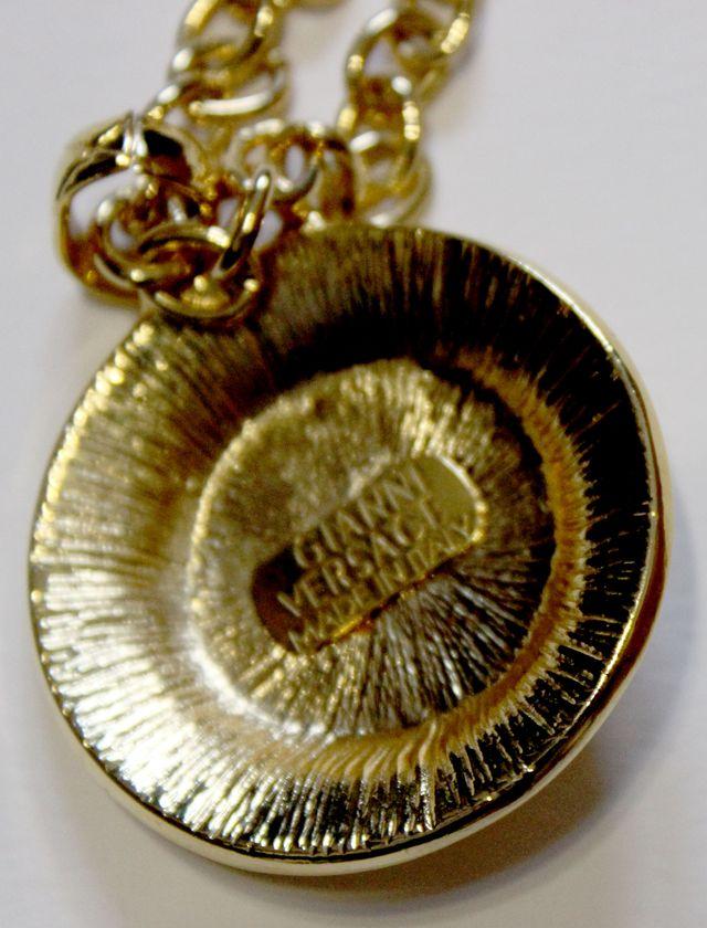 Collar con colgante Medusa de Gianni Versace.